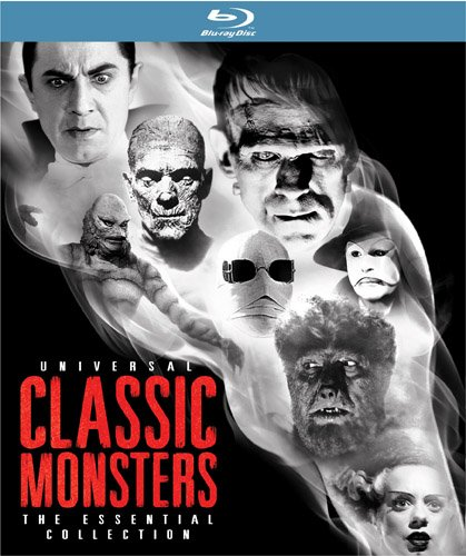 51EfDLs22eL Universal Classic Monsters: The Essential Collection [Blu ray]