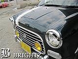 BRIGHTZ 【BRIGHTZ ミラジーノ L700系 超鏡面ステンレスメッキヘッドライトバイザー】 5227