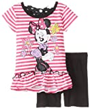 Disney Baby-Girls Infant 2 Piece Minnie Mouse Short Set