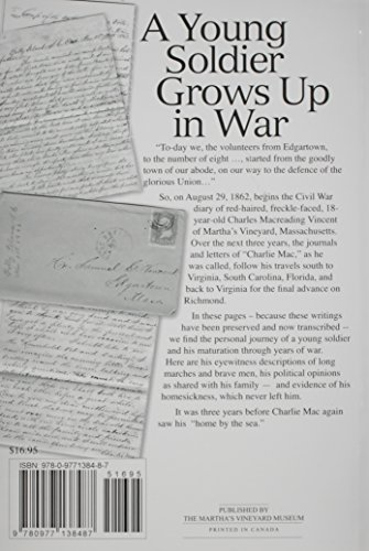 Your Affectionate Son, Charlie Mac: Civil War Diaries & Letters by a Soldier from Martha's Vineyard