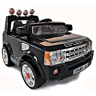 2012 NEW DESIGN , 12V + 2x MOTORS RANGE ROVER STYLE KIDS RIDE ON RECHARGEABLE JEEP+REMOTE CONTROL