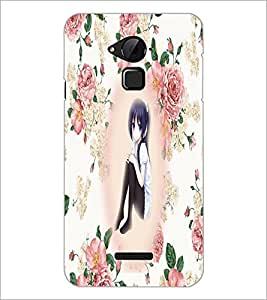 PrintDhaba Cute Girl D-5416 Back Case Cover for COOLPAD NOTE 3 LITE (Multi-Coloured)
