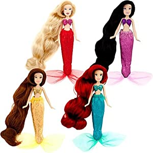 Disney Princess Exclusive Mini Princess Mermaid Doll Set #3 Alana, Ariel, Adella Arista