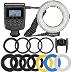Neewer 48 Macro LED Ring Flash Bundle...
