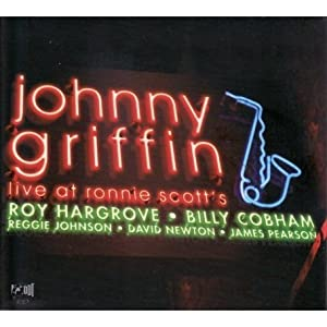 Johnny Griffin Live at Ronnie Scott's cover
