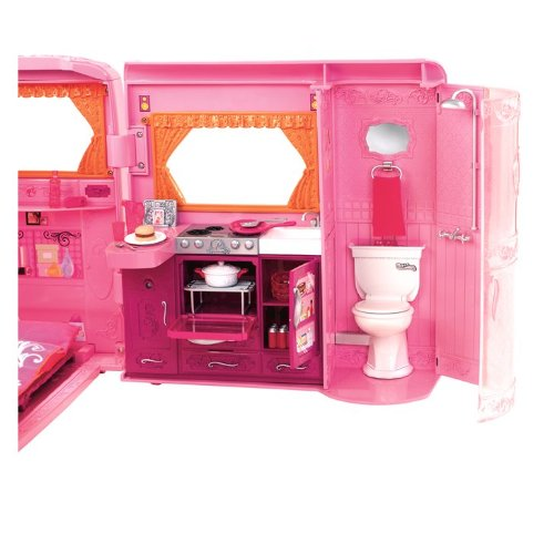 Barbie Barbie Pink Glamour Camper Was Listed For R13 014