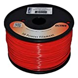 Octave 1.75mm Red ABS Filament 1kg (2.2lbs) Spool for Reprap, MakerBot, Afinia and UP! 3D Printer