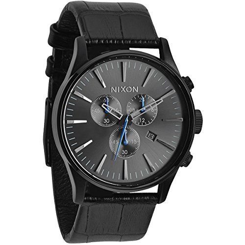 nixon-herren-armbanduhr-xl-sentry-chrono-chronograph-quarz-leder-a4051886-00