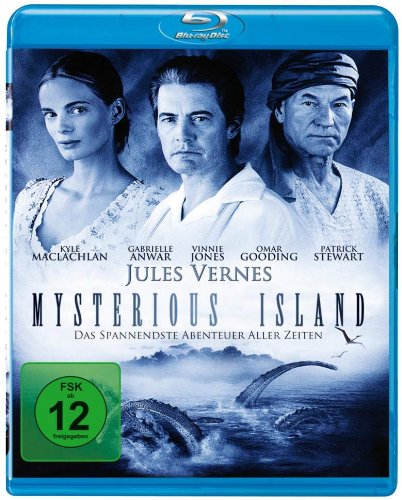 Jules Verne's Mysterious Island [Blu-ray]