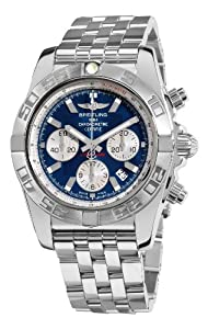 Breitling Men's AB011011/C788 Chronomat B01 Blue Chronograph Dial Watch