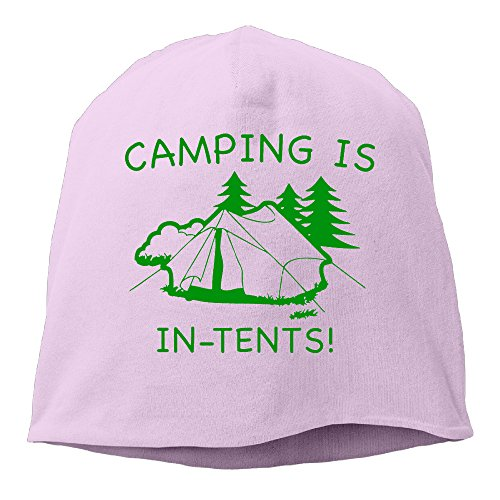 Camping Is In Tents Caps Man Skull Cap Insulated Screen-Print Collectible Cool Beanie (Cali Crusher Grinder Pink compare prices)