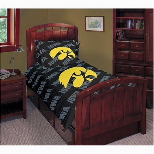 University of Iowa Hawkeyes Comforter Bedspread