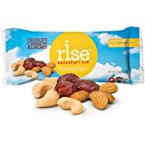 RiseBar Breakfast Crunchy, Cashew Almond, 1.4-Ounce, 12-Count Bars