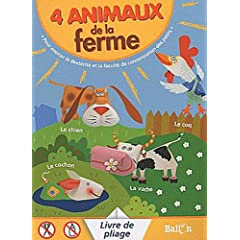 4 animaux de la ferme livre de pliage 9789037474497 books - Pliage serviette animaux ferme ...
