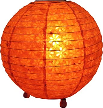 Corona round rice paper floor lamp 25 cm corona paper for Paper floor lamp amazon