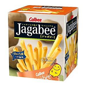 Amazon Com Calbee Potato Sticks Jagabee Light Salt