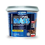 USN Muscle Fuel Mass Muscle and Mass Gain Shake Powder Chocolate - 5 kg -image