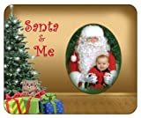 Santa & Me-Kitty. Christmas Photo Magnet Frame