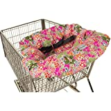 Itzy Ritzy Sitzy Shopping Cart and High Chair Cover, Perky Perennials