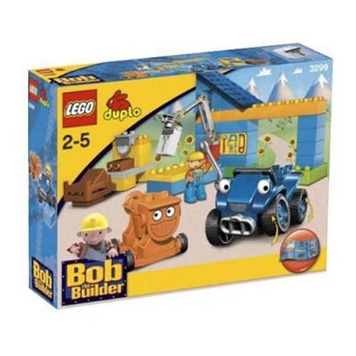 LEGO DUPLO Bob the Builder 3299 Scrambler and Dizzy at Bob's Workshop