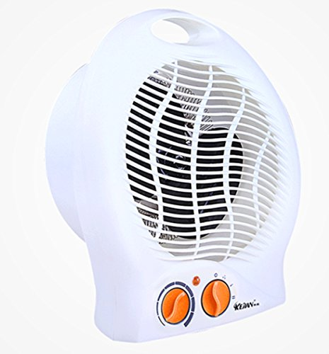 Tree Ccc Impress 1500 Watt Fan Heater With Adjustable Thermostat (One Size, White)