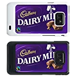 Chocolate Bar Cover case for Samsung Galaxy S2 i9100 - Dairy Milk - 777 - Black