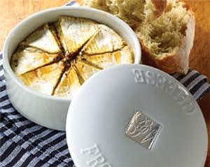 Gourmet Village Bistro Brie Baker - White