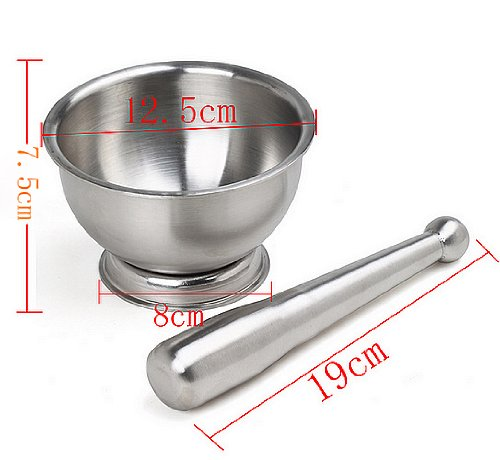 """18/10 Stainlees Steel Ware Deluxe Chopper 12.5Cm/4.9"""" K0346-2 front-489565"""