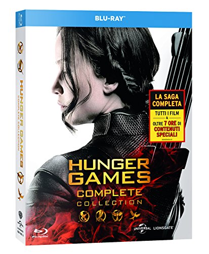 The Hunger Games: Complete Collection (4 Blu-Ray)