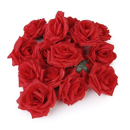 20pcs-tetes-de-fleurs-roses-artificielles-decoration-de-mariage-rouge