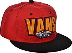 Ice Dragon Unisex VANS Cap (Black & Red)