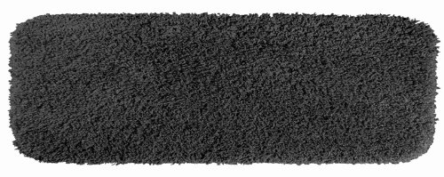 Garland Rug Serendipity Shaggy Washable Nylon Rug, 22-Inch By 60-Inch, Dark Gray front-879047