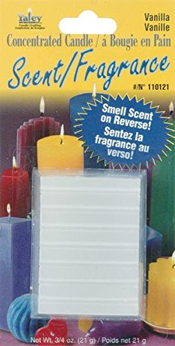Yaley Concentrated Candle Scent Block, 0.75-Ounce, Vanilla front-818736