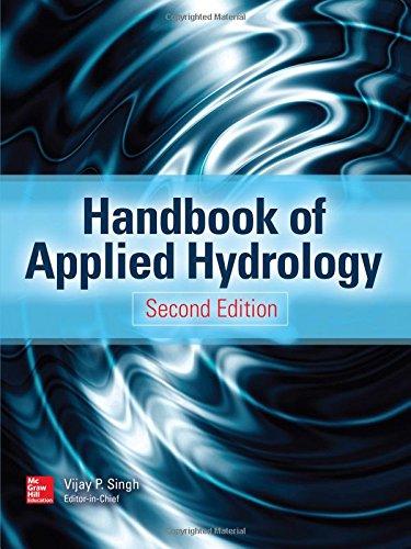 Handbook of Applied Hydrology, Second Edition, by Vijay P. Singh