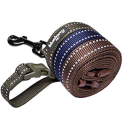 blueberry-pet-leinen-fur-hunde-25-cm-by-120-cm-lange-3m-reflektierende-strapazierfahige-hundeleine-i