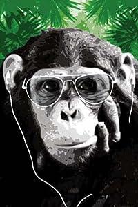 Empire Merchandising 354341 Poster Motif singe avec