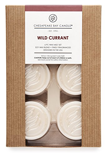 Chesapeake Bay Candle Heritage Collection Wax Melt Set (Pack of 36), Wild Currant (Pier One Air Freshener compare prices)