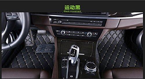 2008 Passenger /& Rear Floor Mats 2009 2012 2011 2007 2010 2005 GGBAILEY BMW 3-Series Sedan Left Hand Drive 2004 2013 Black Loop Driver 2006