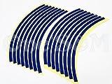 J-138×2 ホイール リムラインステッカー 10インチ 青 ライブディオZX スーパーディオ ディオZX ディオSR モンキー ゴリラ ズーマー ジョグZ スーパージョグZR セピアZZ レッツ アドレスV125G