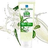 100% Natural Gel d'Aloe Vera - Excellent hydratant Visage & Corps Cheveux - Calmant Aprés Epilation 227g...