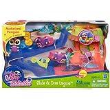 Littlest Pet Shop Slide and Dive Lagoon Playset