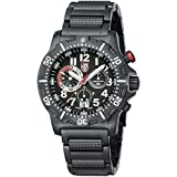 Luminox Dive Chronograph Black Dial Black Ion-plated Mens Watch 8362RP