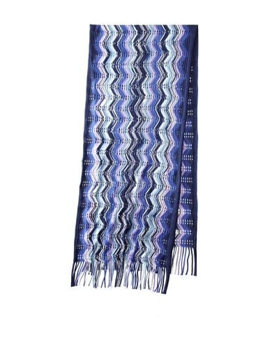 Missoni Women's Pointelle Scarf, Blue As You See