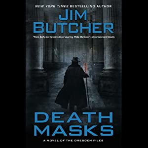 Death Masks: The Dresden Files, Book 5 | [Jim Butcher]