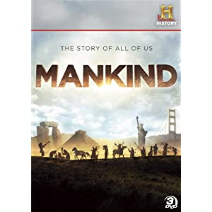51Efp1BrfyL. SL500 AA300  GIVEAWAY: MANKIND: The Story of All of Us 3 DVD Set ($34.95 value)