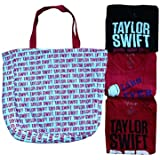 Taylor Swift Red Tour 4 Piece Top & Tote Pack Small
