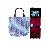 Licensed Taylor Swift Red Tour 4 Piece Top & Tote Pack Small