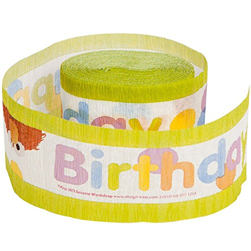 Sesame Street Party Crepe Paper Streamer (1ct) - 1
