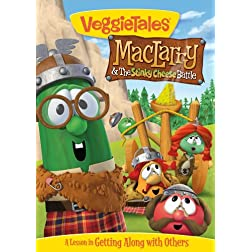 Veggietales: Maclarry & Stinky Cheese Battle