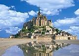 ちょっとパズルの達人 216ピース モン・サン・ミッシェルとその湾II[フランス] 04-004